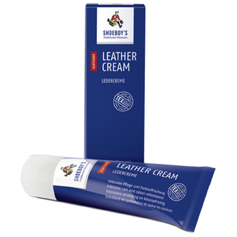 LEATHER CREAM  schwarz DETAILSEITE