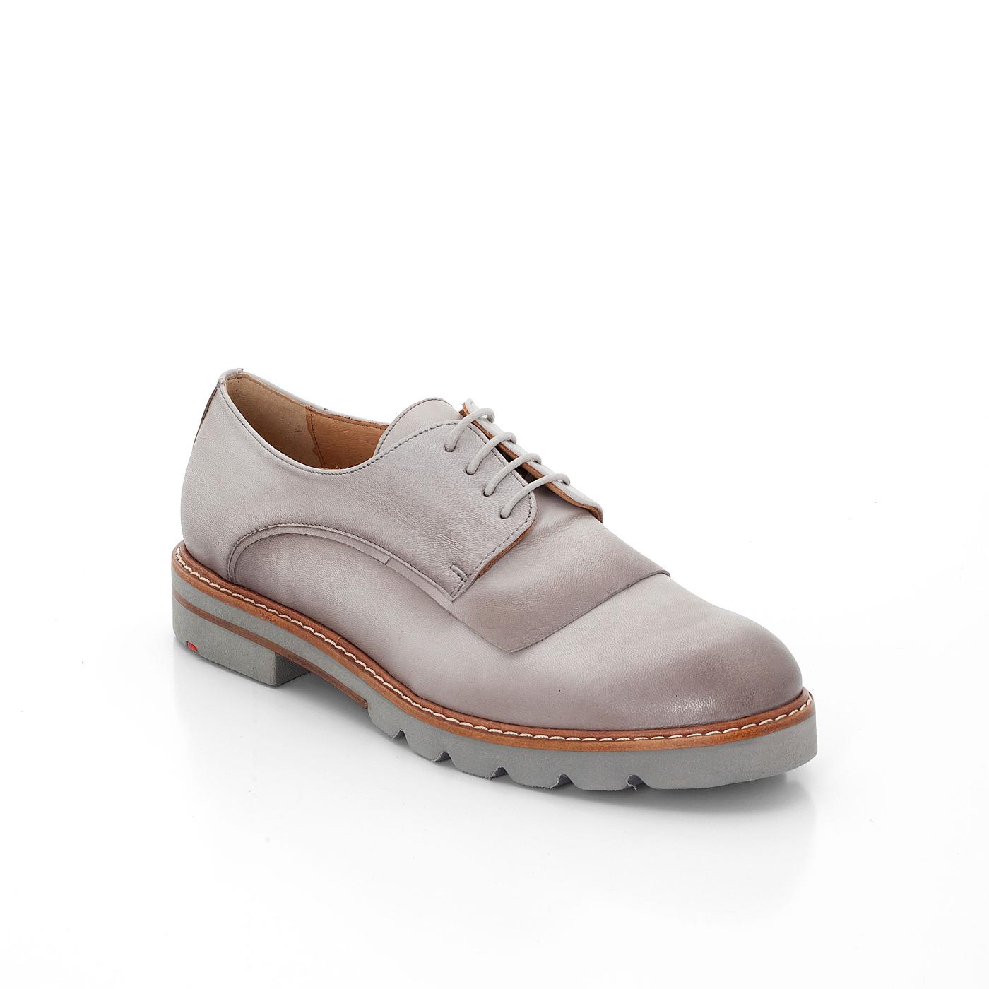 Halbschuhe | Schuhe > Boots > Schnürboots | Grau | Leder | Lloyd