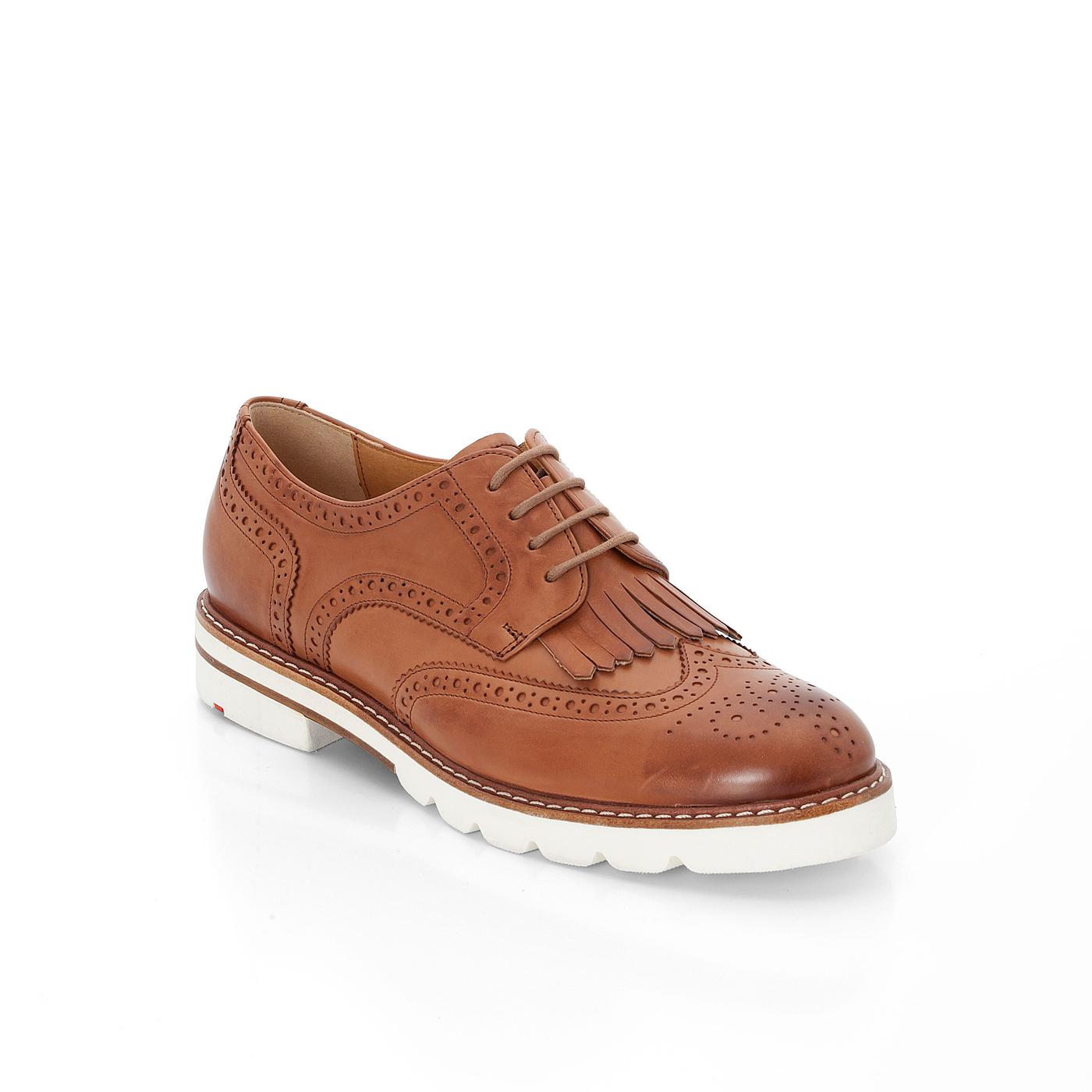 Halbschuhe | Schuhe > Boots > Schnürboots | Braun | Glattleder -  leder | LLOYD