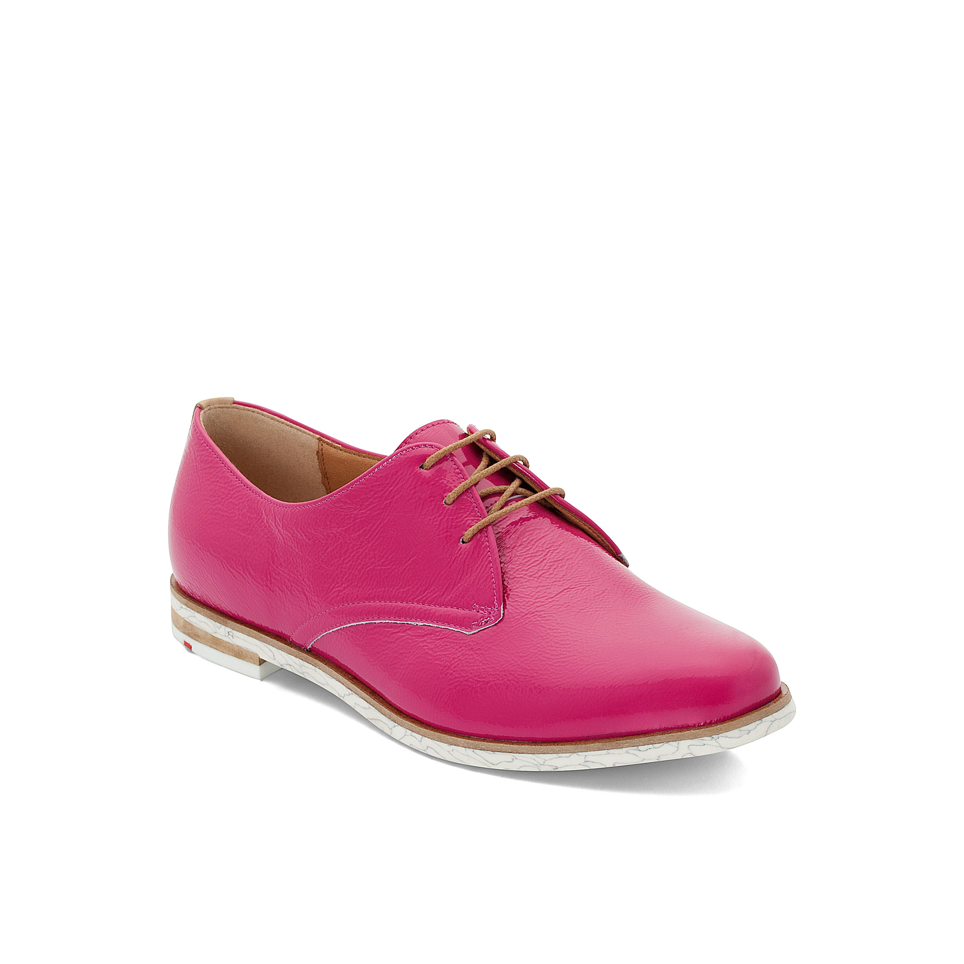 Halbschuhe | Schuhe > Boots > Schnürboots | Pink | Glattleder -  leder | LLOYD