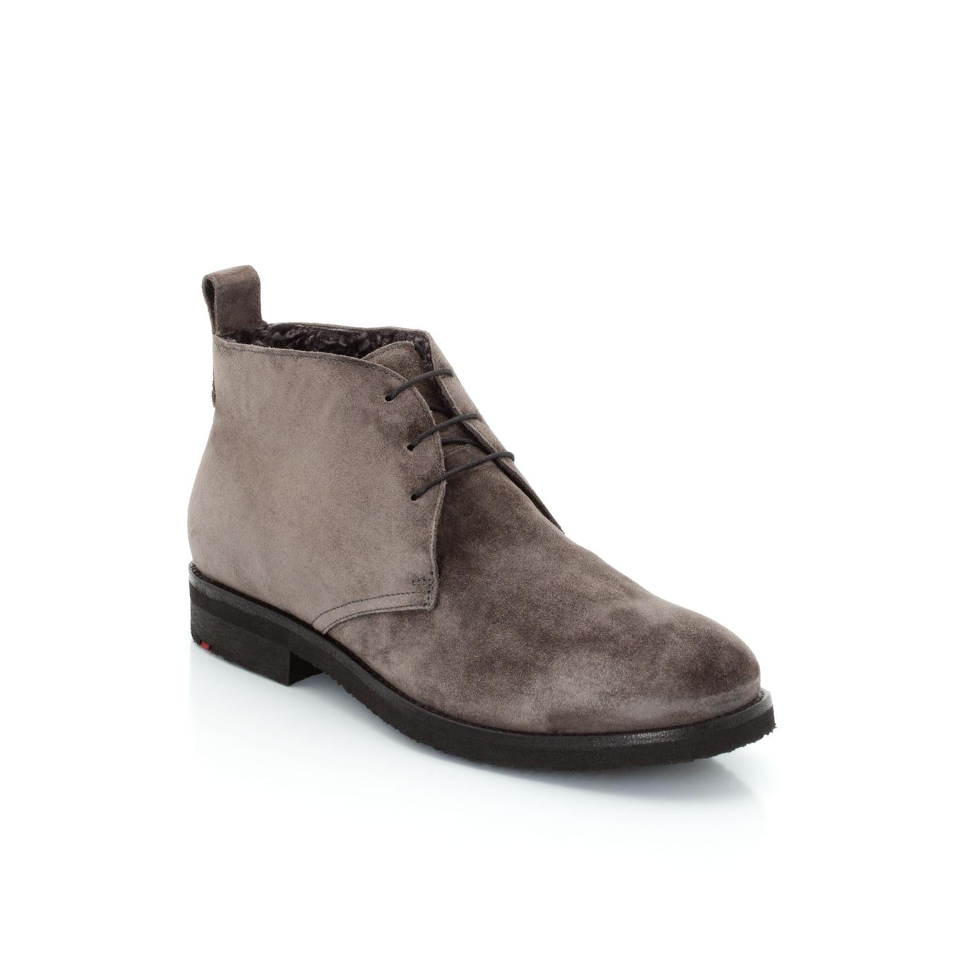 Stiefeletten | Schuhe > Stiefeletten | Grau | Rauleder -  lammfell (100%) | LLOYD
