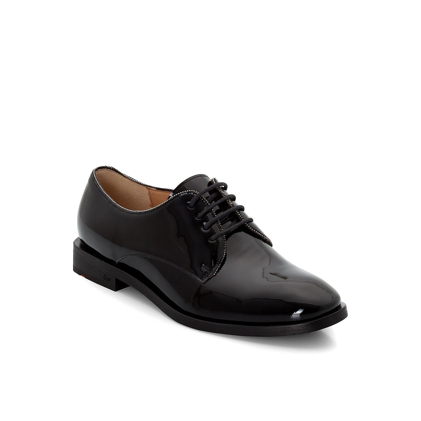 Halbschuhe | Schuhe > Boots > Schnürboots | Schwarz | Glattleder -  leder | LLOYD