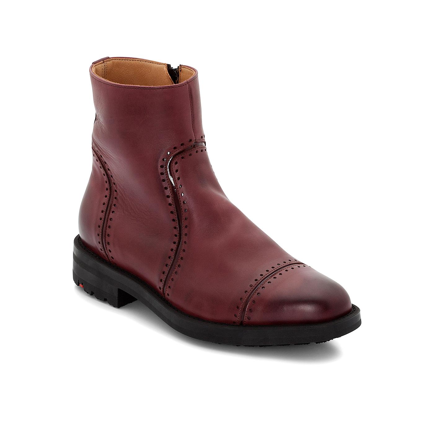 Stiefeletten | Schuhe > Stiefeletten > Sonstige Stiefeletten | Rot | Effektleder -  leder | LLOYD