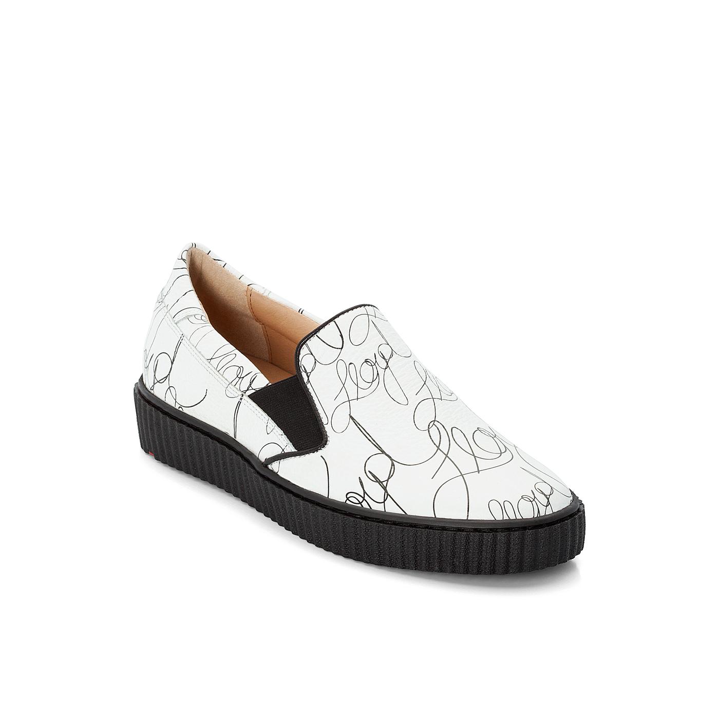 SLIPPER | Schuhe > Slipper | Weiss | Leder | Lloyd