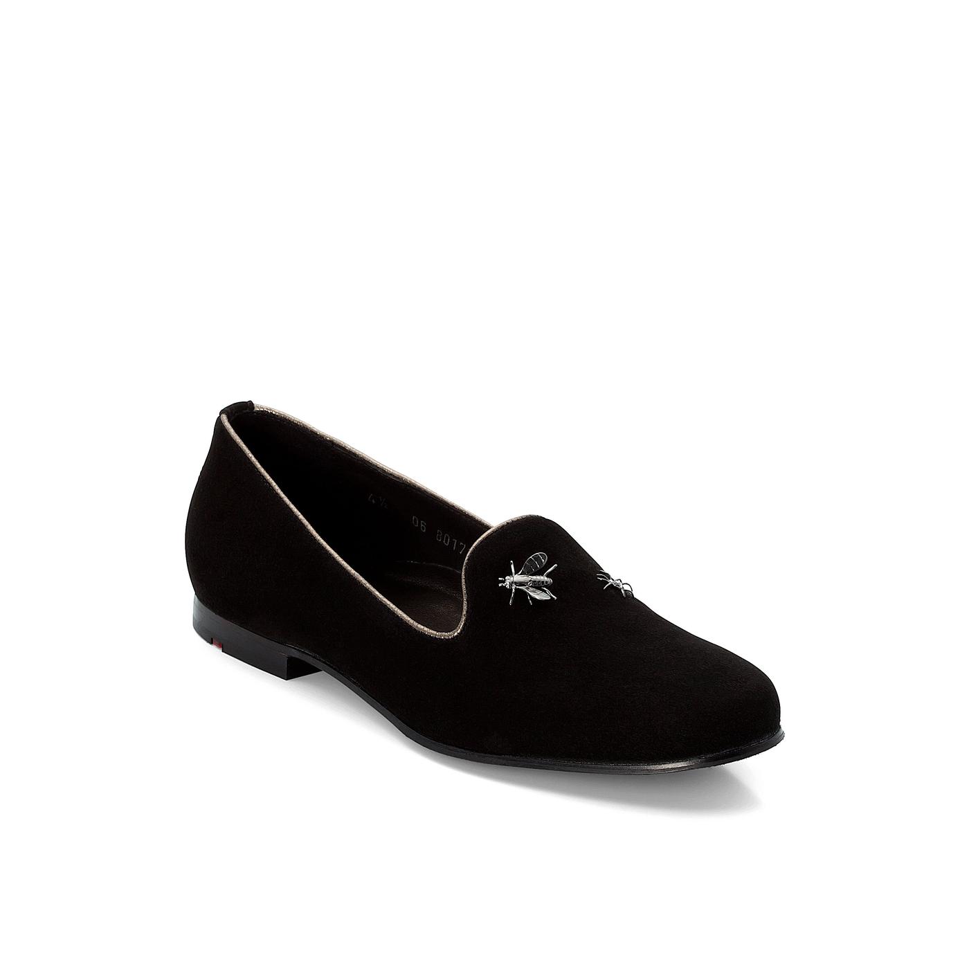 SLIPPER | Schuhe > Slipper | Schwarz | Leder | Lloyd