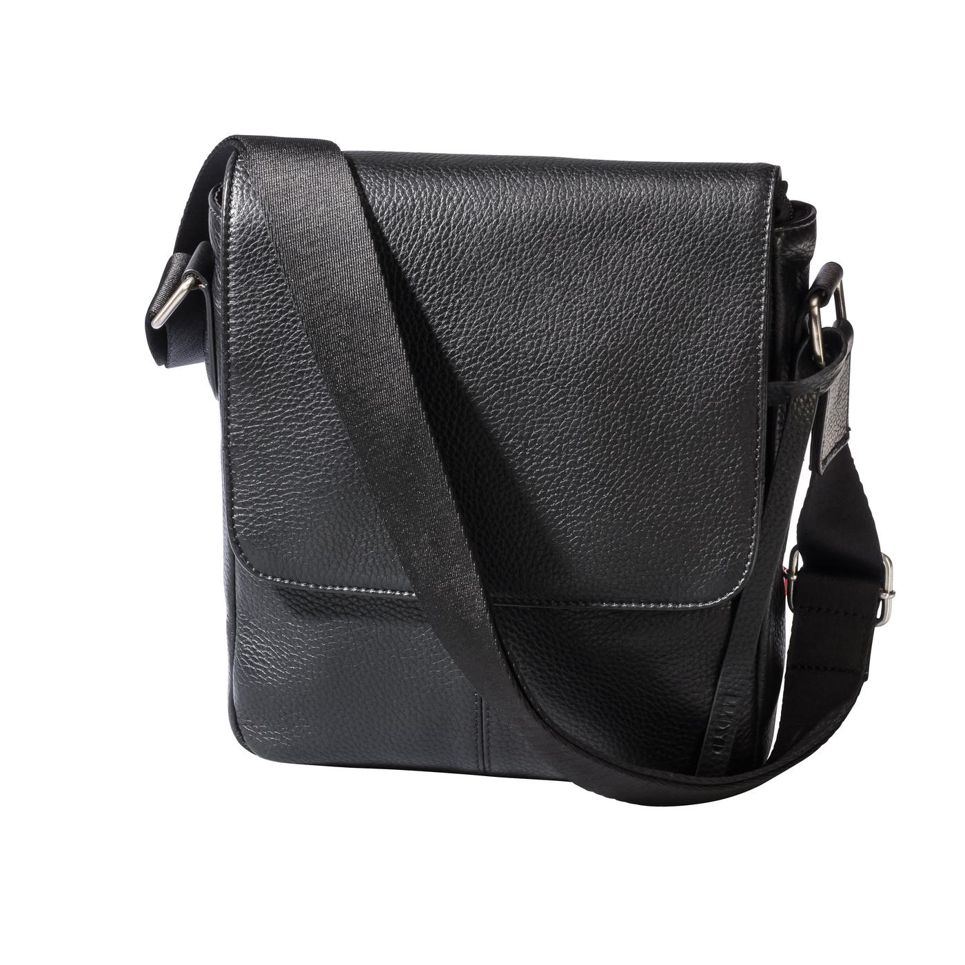 MESSENGERBAG | Taschen > Business Taschen | Schwarz | Glattleder -  polyester ) | LLOYD