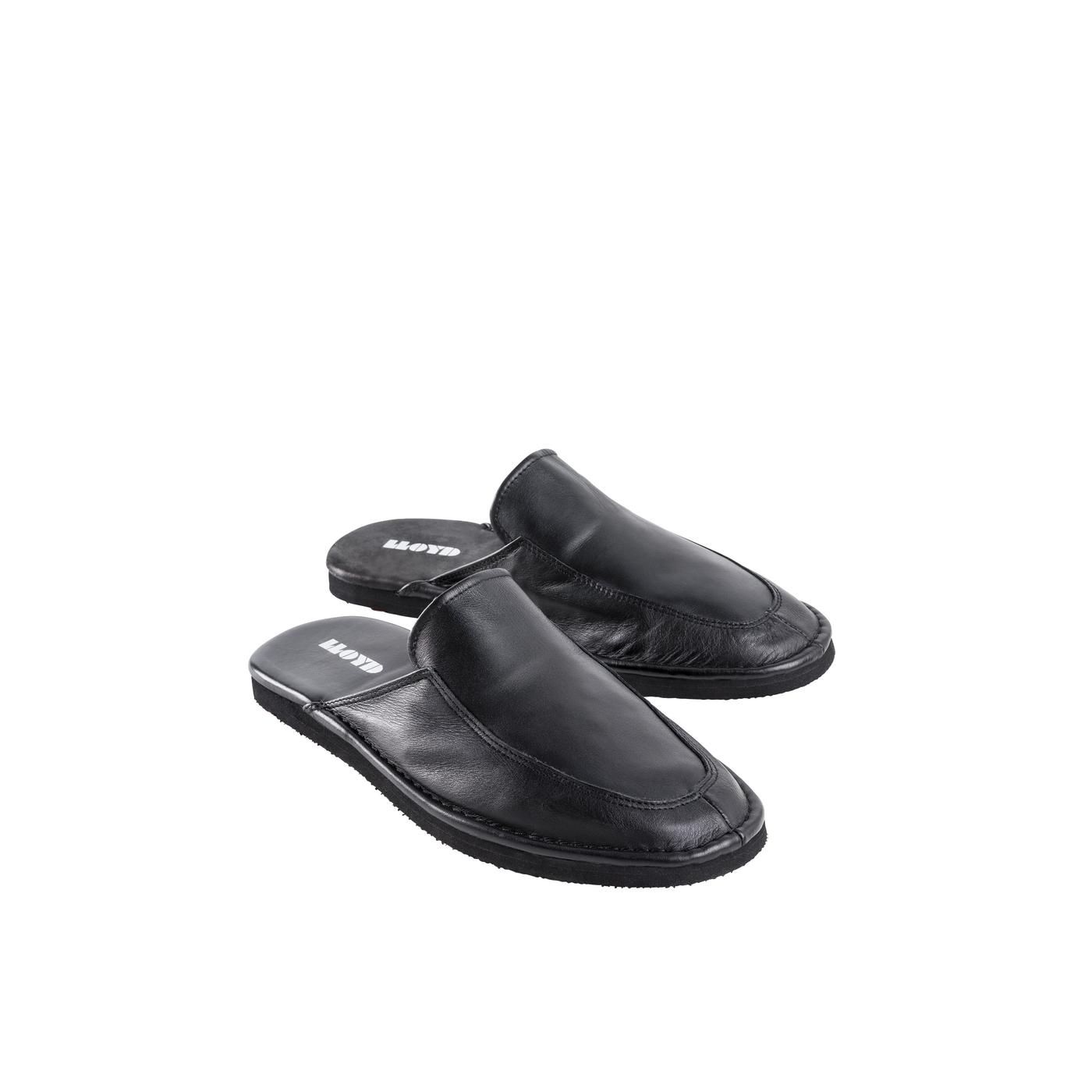 REISEPANTOFFELN | Schuhe > Hausschuhe > Pantoffeln | Schwarz | LLOYD